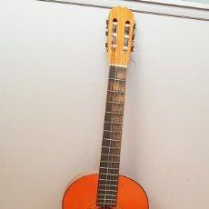 Instrumentos musicales: GUITARRA ESPAÑOLA RITMO ALMERIA CON FUNDA ¿AÑOS 80?, BUEN ESTADO CON ALGUN PEQUEÑO DEFECTO. Lote 229485910