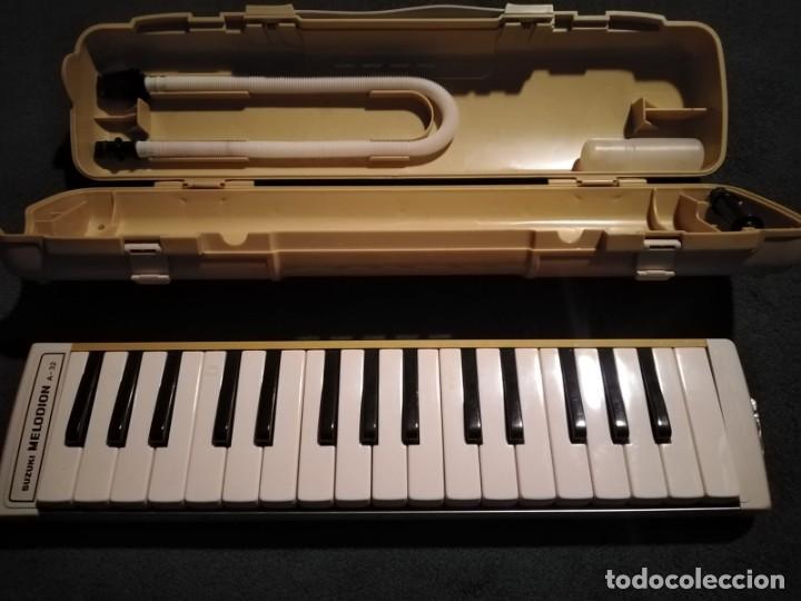 INSTRUMENTOS MUSICAL. MELÓDICA SUZUKI MELODION A-32 (Música - Instrumentos Musicales - Pianos Antiguos)