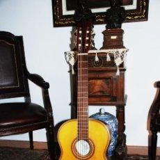 Instrumentos musicales: BELLA GUITARRA ESPAÑOLA. VICENTE SANCHIS. RECIÉN REVISADA, RESTAURADA Y AFINADA. CUERDAS NUEVAS.. Lote 229888725