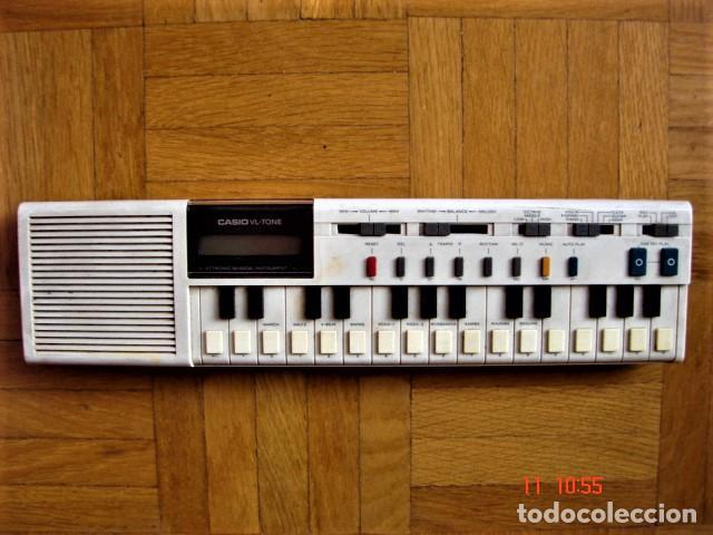 TECLADO ELECTRÓNICO CASIO VL-TONE. VL-1 (Música - Instrumentos Musicales - Teclados Eléctricos y Digitales)