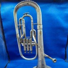 Instruments Musicaux: ANTIGUA TUBA DE P.S XX BAÑADA EN PLATA. Lote 230292270