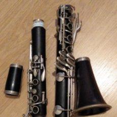 Instrumentos musicales: CLARINETE DE MADERA BOEHM COMPLETO LA. Lote 230383050