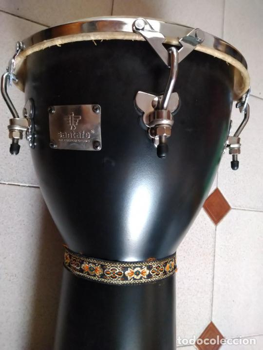 Instrumentos musicales: TIMBAL DE PIEL MARCA SANTAFE. MEDIDAS: 33 CM DIÁMETRO/ 63 CM ALTURA. - Foto 5 - 230428530