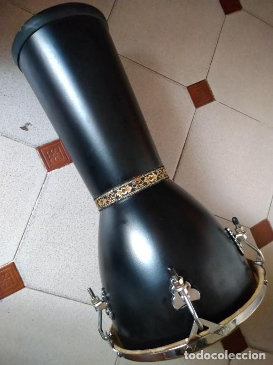 Instrumentos musicales: TIMBAL DE PIEL MARCA SANTAFE. MEDIDAS: 33 CM DIÁMETRO/ 63 CM ALTURA. - Foto 9 - 230428530