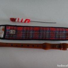 Instrumentos musicales: FLAUTA DULCE SOPRANO MADERA HONNER GERMANY DIGITACION ALEMANA. Lote 231303590