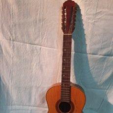 Instruments Musicaux: GUITARRA ESPAÑOLA. 12 CUERDAS, MARCA JUAN ESTRUCH, AÑOS 60-70.. Lote 231308680