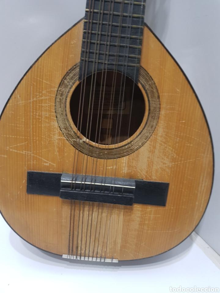 Instrumentos musicales: ANTIGUA BANDURRIA JOSE RAMIREZ 1955 - Foto 2 - 231506925