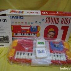 Strumenti musicali: TECLADO CASIO SOUND KIDS CON TARJETA DE SONIDO KS 01, NUEVO SIN USAR. Lote 231531115