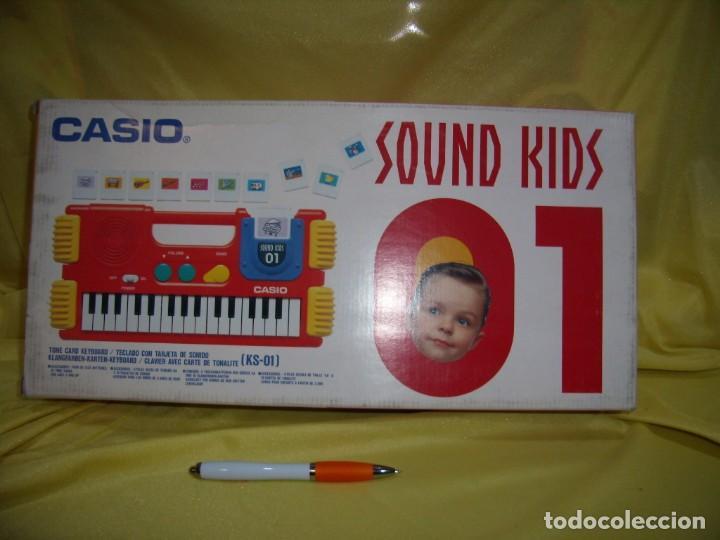 Instrumentos musicales: Teclado Casio Sound Kids con tarjeta de sonido KS 01, Nuevo sin usar - Foto 5 - 231531115