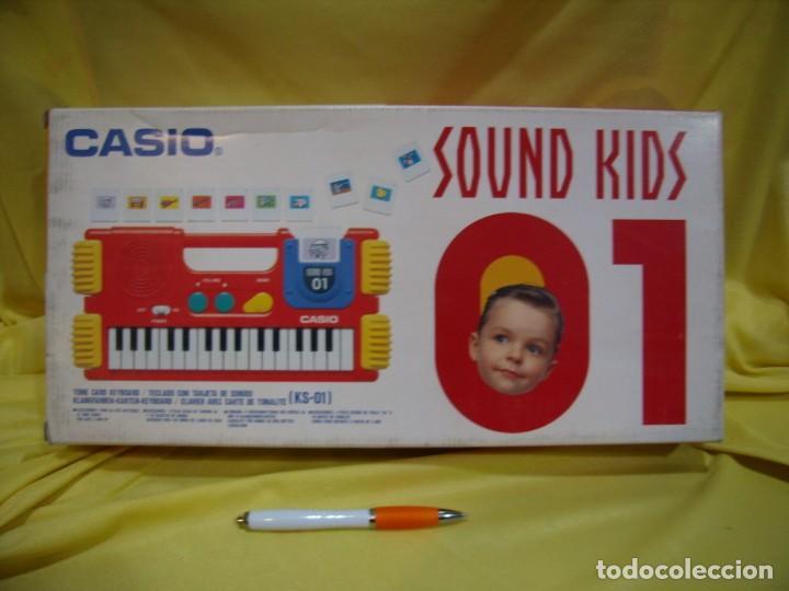 Instrumentos musicales: Teclado Casio Sound Kids con tarjeta de sonido KS 01, Nuevo sin usar - Foto 6 - 231531115