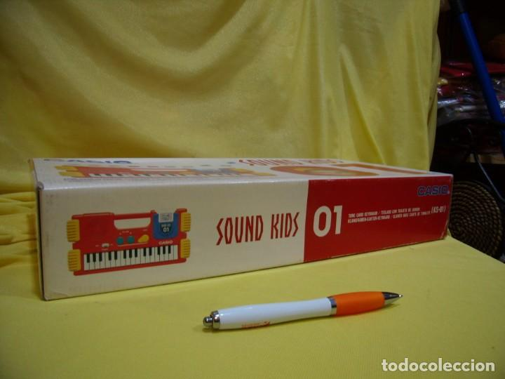 Instrumentos musicales: Teclado Casio Sound Kids con tarjeta de sonido KS 01, Nuevo sin usar - Foto 7 - 231531115