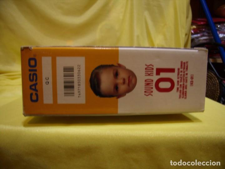 Instrumentos musicales: Teclado Casio Sound Kids con tarjeta de sonido KS 01, Nuevo sin usar - Foto 8 - 231531115