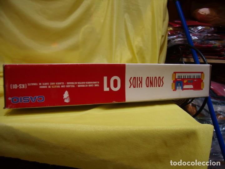 Instrumentos musicales: Teclado Casio Sound Kids con tarjeta de sonido KS 01, Nuevo sin usar - Foto 9 - 231531115