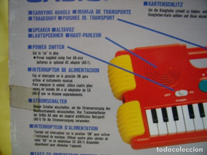 Instrumentos musicales: Teclado Casio Sound Kids con tarjeta de sonido KS 01, Nuevo sin usar - Foto 11 - 231531115