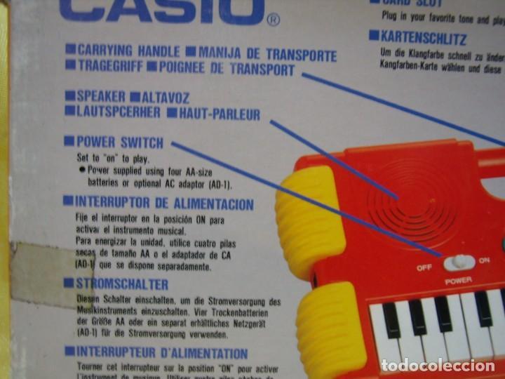 Instrumentos musicales: Teclado Casio Sound Kids con tarjeta de sonido KS 01, Nuevo sin usar - Foto 12 - 231531115