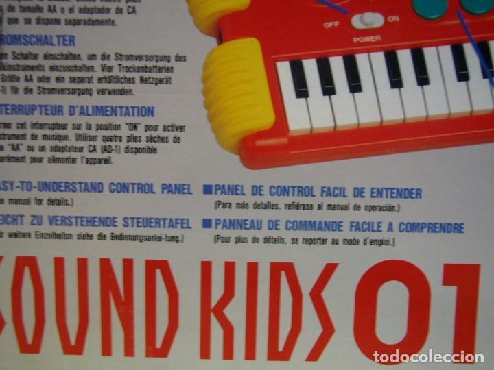 Instrumentos musicales: Teclado Casio Sound Kids con tarjeta de sonido KS 01, Nuevo sin usar - Foto 13 - 231531115