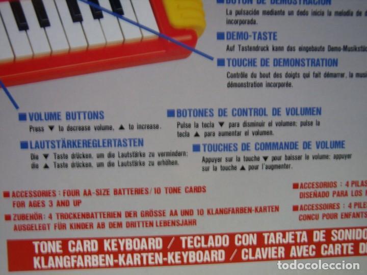 Instrumentos musicales: Teclado Casio Sound Kids con tarjeta de sonido KS 01, Nuevo sin usar - Foto 16 - 231531115