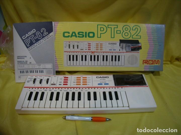 TECLADO CASIO PS 82, PS-82, CON TARJETA CASIO ROM PACK RO - 551, NUEVO SIN USAR (Música - Instrumentos Musicales - Teclados Eléctricos y Digitales)