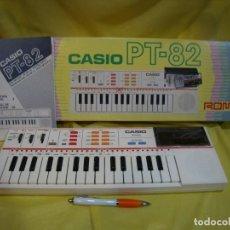 Instrumentos musicales: TECLADO CASIO PS 82, PS-82, CON TARJETA CASIO ROM PACK RO - 551, NUEVO SIN USAR. Lote 231532125