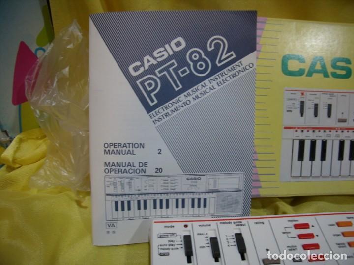 Instrumentos musicales: Teclado Casio PS 82, PS-82, con tarjeta casio Rom Pack Ro - 551, Nuevo sin usar - Foto 2 - 231532125