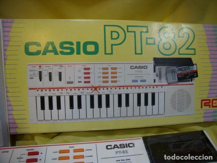 Instrumentos musicales: Teclado Casio PS 82, PS-82, con tarjeta casio Rom Pack Ro - 551, Nuevo sin usar - Foto 3 - 231532125