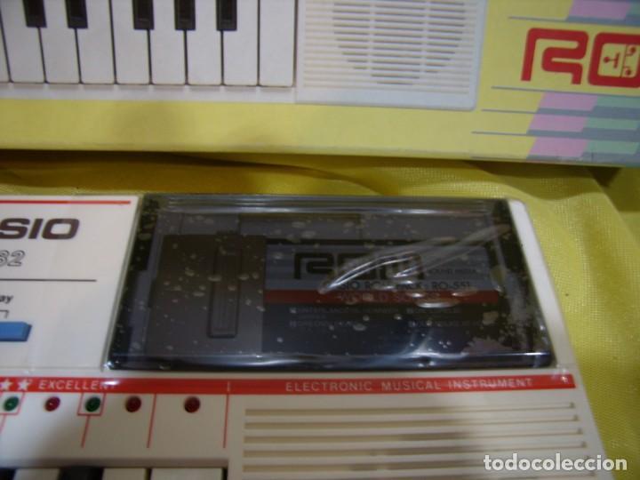 Instrumentos musicales: Teclado Casio PS 82, PS-82, con tarjeta casio Rom Pack Ro - 551, Nuevo sin usar - Foto 6 - 231532125