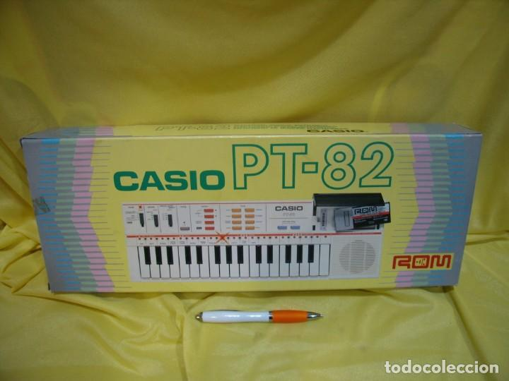 Instrumentos musicales: Teclado Casio PS 82, PS-82, con tarjeta casio Rom Pack Ro - 551, Nuevo sin usar - Foto 7 - 231532125