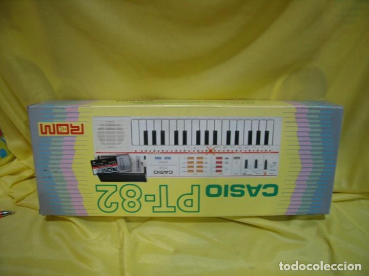 Instrumentos musicales: Teclado Casio PS 82, PS-82, con tarjeta casio Rom Pack Ro - 551, Nuevo sin usar - Foto 8 - 231532125