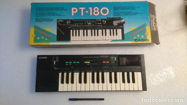 TECLADO PIANO CASIO PT 180 CON ROM DE CANCIONES, FUNCIONANDO OK (Música - Instrumentos Musicales - Teclados Eléctricos y Digitales)