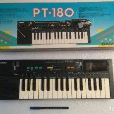 Strumenti musicali: TECLADO PIANO CASIO PT 180 CON ROM DE CANCIONES, FUNCIONANDO OK. Lote 232009505