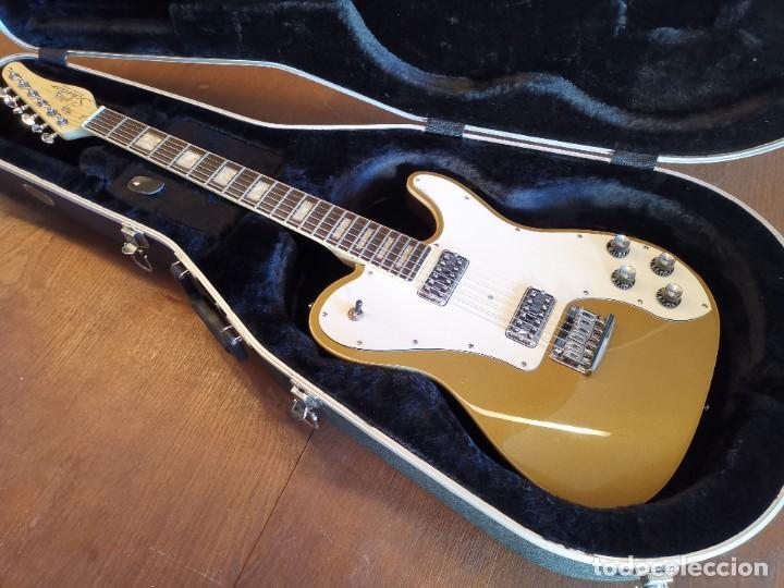 Instrumentos musicales: GUITARRA SCHECTER PT FASTBACK GOLD....IMPECABLE - Foto 2 - 232362575