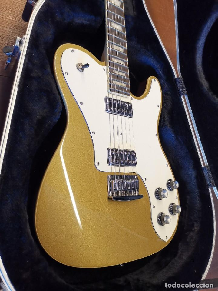 Instrumentos musicales: GUITARRA SCHECTER PT FASTBACK GOLD....IMPECABLE - Foto 9 - 232362575