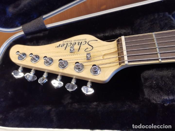 Instrumentos musicales: GUITARRA SCHECTER PT FASTBACK GOLD....IMPECABLE - Foto 10 - 232362575