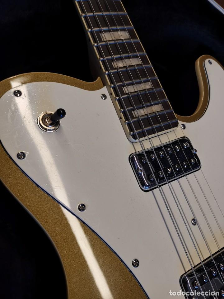 Instrumentos musicales: GUITARRA SCHECTER PT FASTBACK GOLD....IMPECABLE - Foto 12 - 232362575