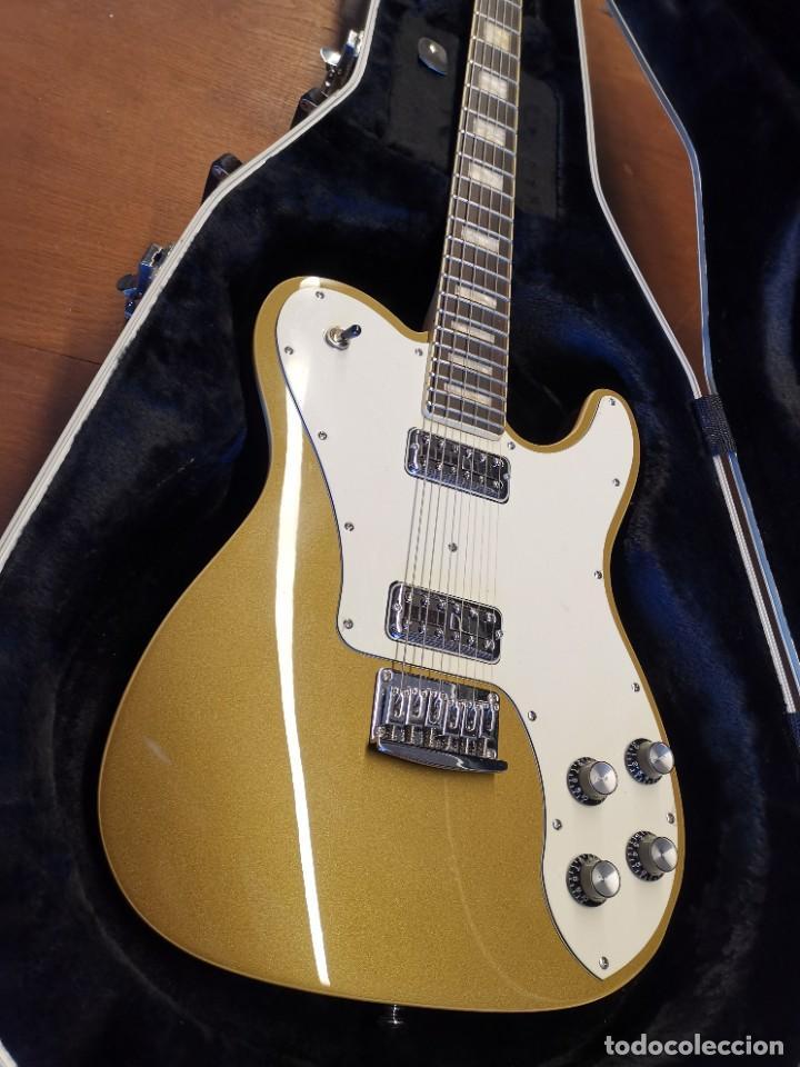Instrumentos musicales: GUITARRA SCHECTER PT FASTBACK GOLD....IMPECABLE - Foto 20 - 232362575