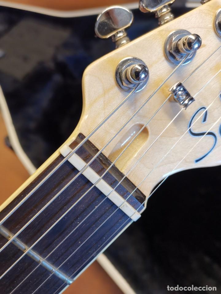 Instrumentos musicales: GUITARRA SCHECTER PT FASTBACK GOLD....IMPECABLE - Foto 26 - 232362575