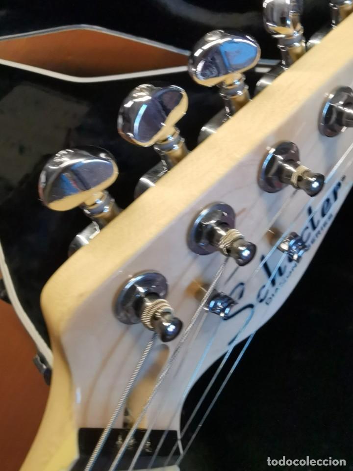 Instrumentos musicales: GUITARRA SCHECTER PT FASTBACK GOLD....IMPECABLE - Foto 28 - 232362575