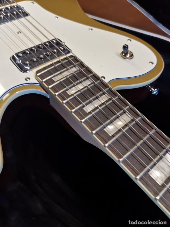 Instrumentos musicales: GUITARRA SCHECTER PT FASTBACK GOLD....IMPECABLE - Foto 35 - 232362575