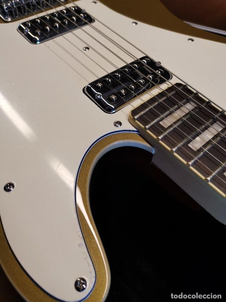 Instrumentos musicales: GUITARRA SCHECTER PT FASTBACK GOLD....IMPECABLE - Foto 36 - 232362575