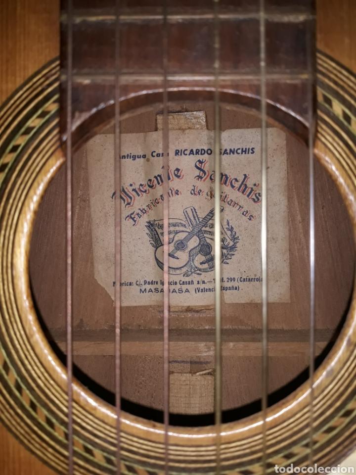 Instrumentos musicales: Guitarra antigua casa ricardo sanchis cadete - Foto 2 - 232418340