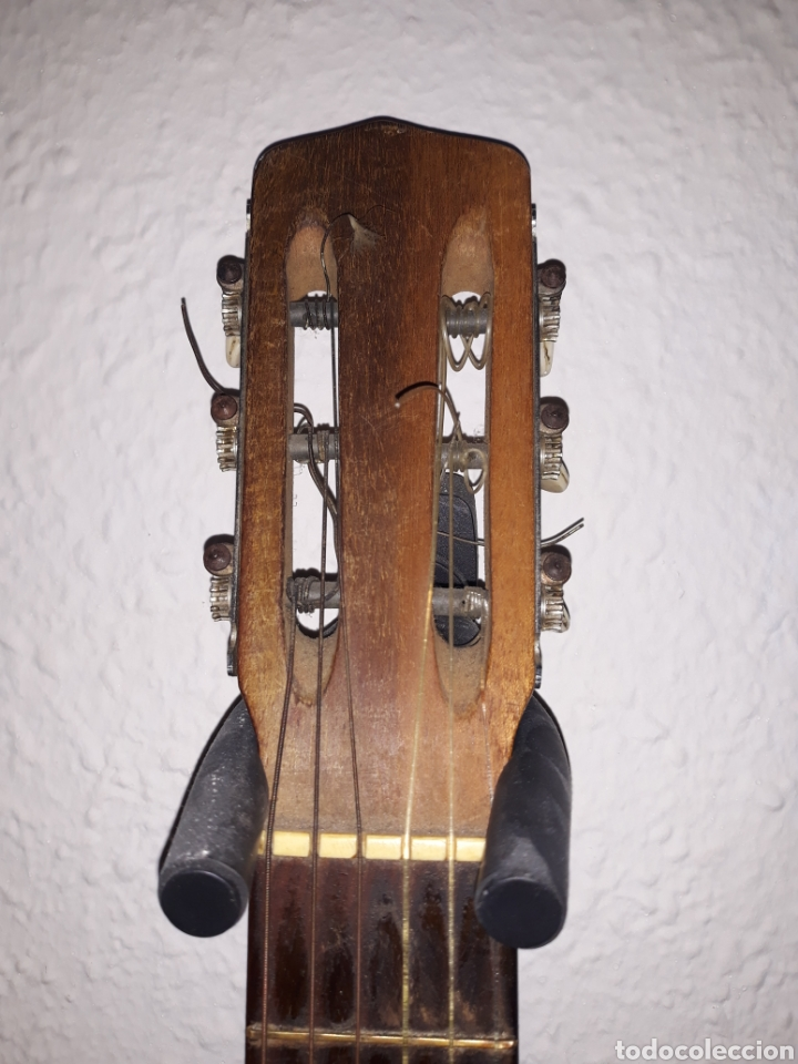Instrumentos musicales: Guitarra antigua casa ricardo sanchis cadete - Foto 3 - 232418340