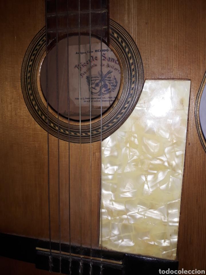Instrumentos musicales: Guitarra antigua casa ricardo sanchis cadete - Foto 4 - 232418340