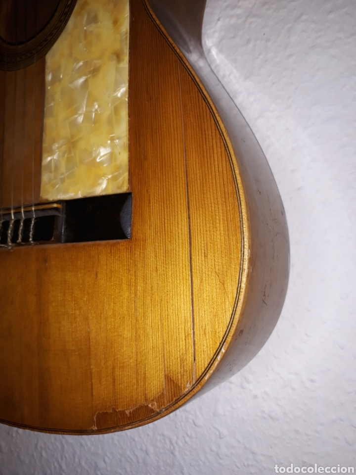 Instrumentos musicales: Guitarra antigua casa ricardo sanchis cadete - Foto 5 - 232418340
