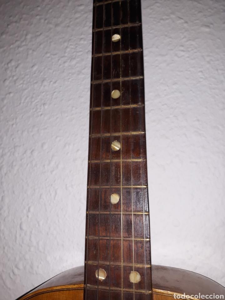 Instrumentos musicales: Guitarra antigua casa ricardo sanchis cadete - Foto 9 - 232418340