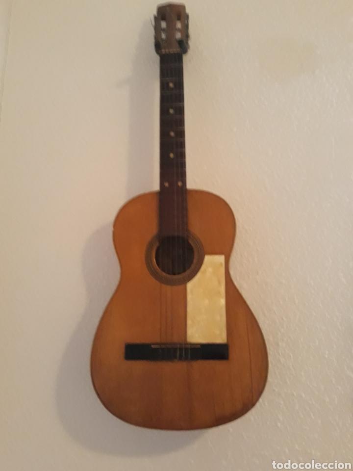 GUITARRA ANTIGUA CASA RICARDO SANCHIS CADETE (Música - Instrumentos Musicales - Guitarras Antiguas)