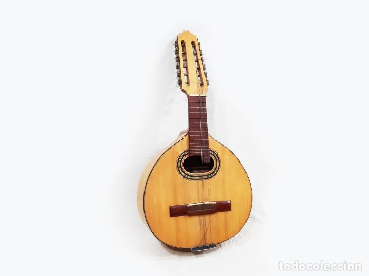 BANDURRIA DE LUIS ARÓSTEGUI GRANADOS CON SU FUNDA - MADRID 1961 - VER DESCRIPCIÓN (Música - Instrumentos Musicales - Cuerda Antiguos)