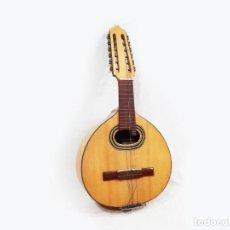 Instruments Musicaux: BANDURRIA DE LUIS ARÓSTEGUI GRANADOS CON SU FUNDA - MADRID 1961 - VER DESCRIPCIÓN. Lote 232586550
