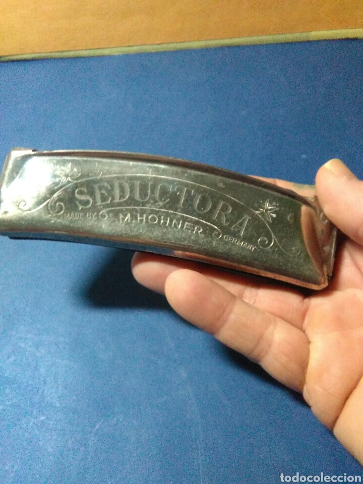 Instrumentos musicales: Antigua armonica ,M.Hohner seductora ,made in germany , - Foto 6 - 232689090