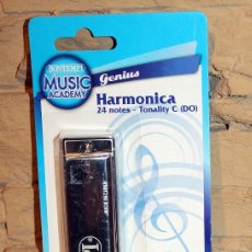 Instrumentos musicales: HARMONICA BUONTEMPI - NUEVA Y EN SU BLISTER ORIGINAL - 24 NOTAS. Lote 232753275