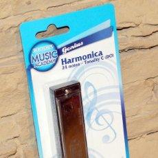 Instrumentos musicales: HARMONICA BUONTEMPI - NUEVA Y EN SU BLISTER ORIGINAL - 24 NOTAS. Lote 232753285